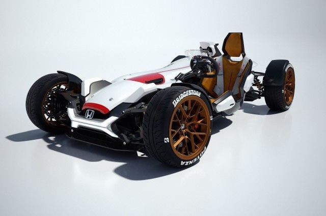 Honda Project 2&4 powered by RC213V