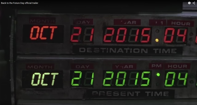 Back to the Future Day