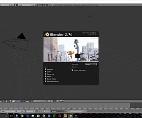 Open-Source-3D-Paket: Blender 2.76