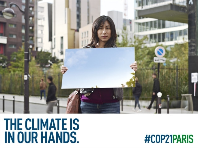 COP21 Climate is in our hands