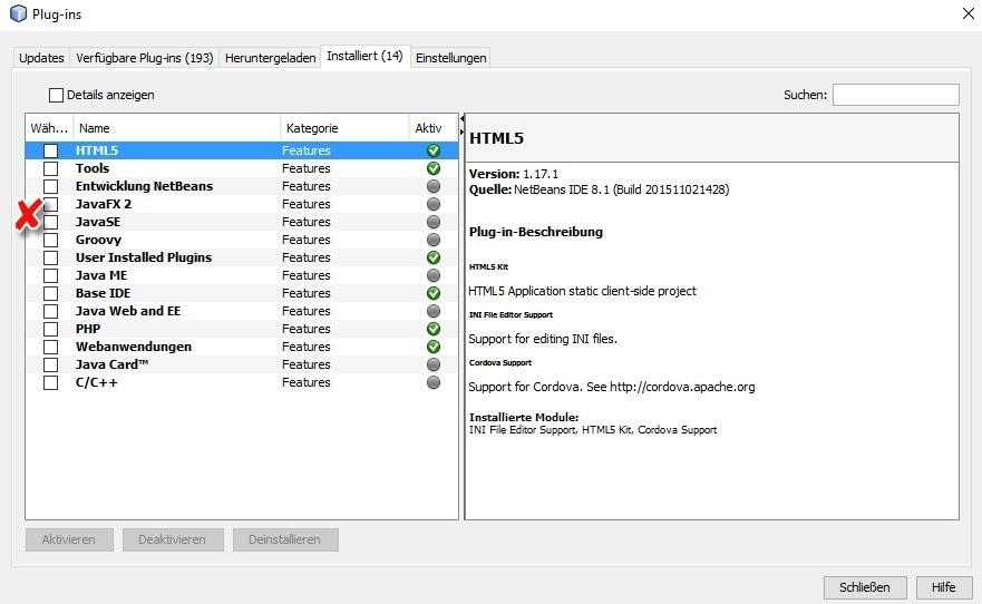 Java installieren