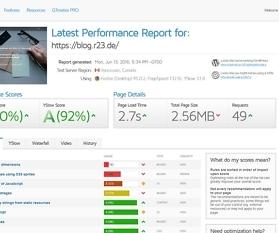 Tipps für bessere Website Performance