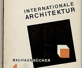 Bauhausbücher: Walter Gropius (ed.), Internationale Architektur