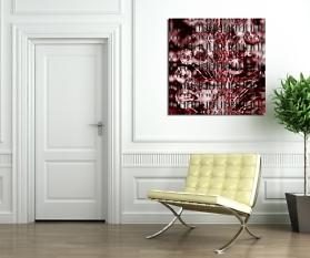 Digipop: Quadratisch 120 x 120 cm