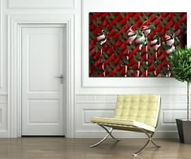 Digipop: Windzauber Leinwand: 180 x 120 cm