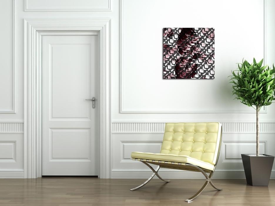 DIGIpop: Weiche Kanten 80 x 80 cm