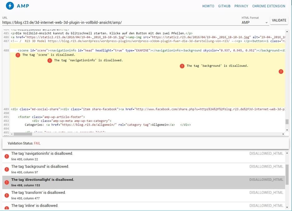 amp-validator-website