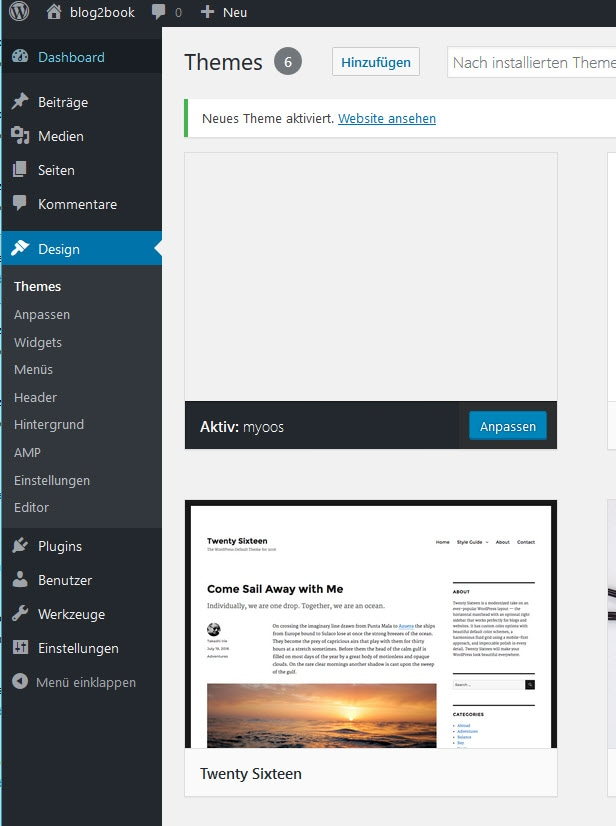 WordPress Blank-Theme mit LESS von r23