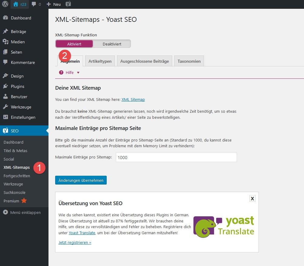 Wordpress Sitemaps: Suchmaschinenoptimierung Für Mehr Kunden & Umsatz