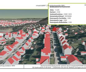 3D-Gebäudemodelle NRW