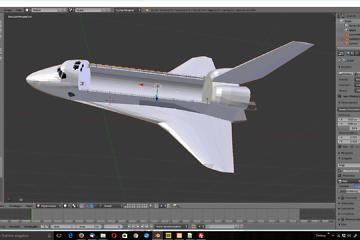 3D Model: Space Shuttle