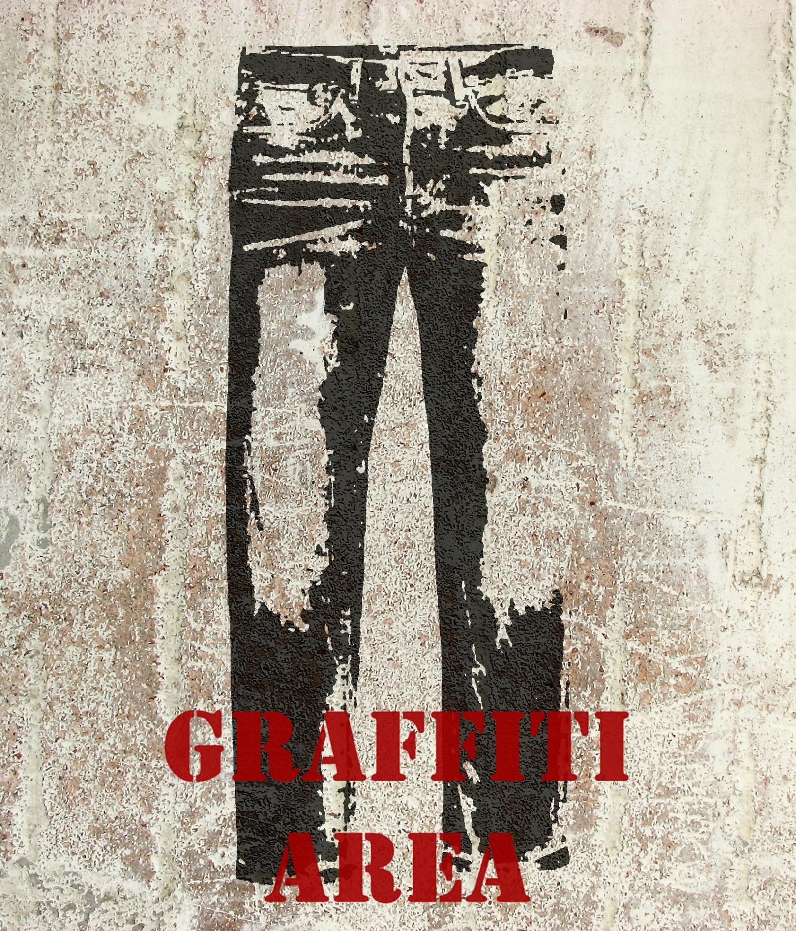 modellierte Betonobjekte: Jeans in Beton