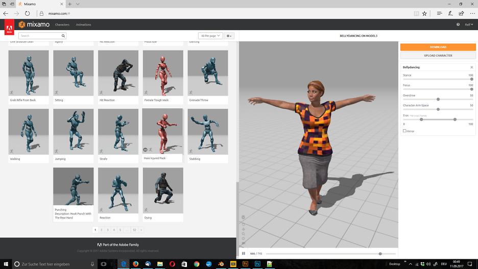 3D-Figuren, 3D-Modelle 1