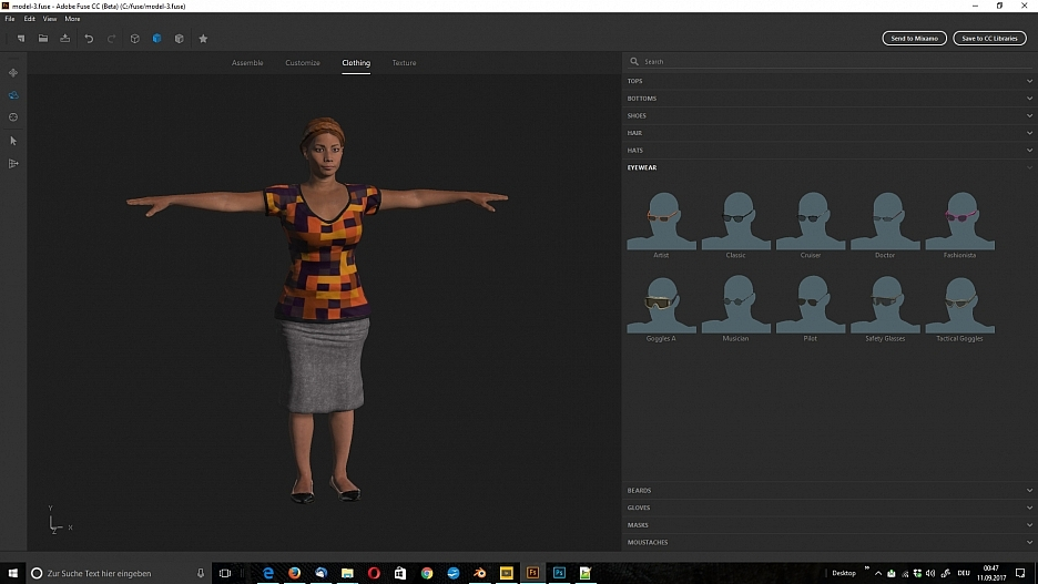 3D-Figuren, 3D-Modelle