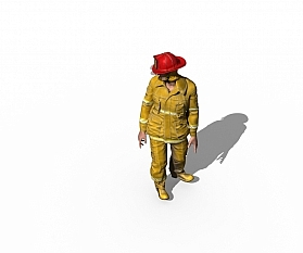 Du als Feuerwehrmann: 3D-Modelling