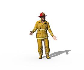Feuerwehrmann: 3D-Druck