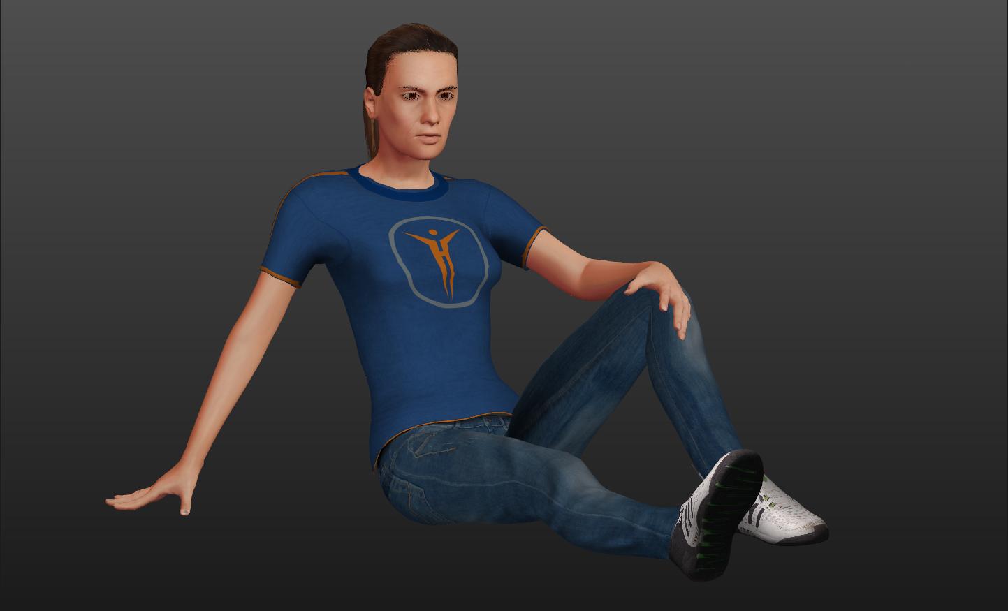 Mesh 3D-Figur nach Deinem Abbild