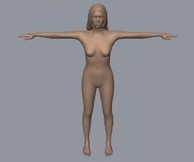 Skulptur Kassandra: Auto-Rigger