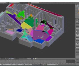 Blender Tutorial: Erstellen eines Navigationsnetzes für eine WebVR-Szene