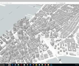 3D-Darstellung der Gebäude in OpenStreetMap