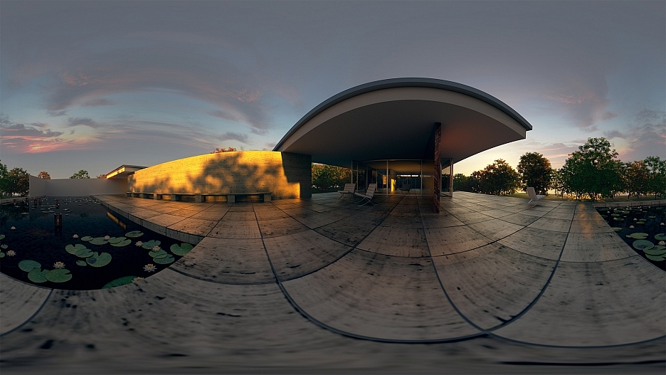 360 Panoramarendering