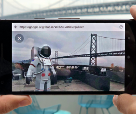 Augmented Reality im Browser
