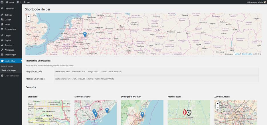 Webentwicklung von dynamischen Karten 2