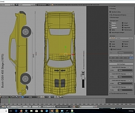 Tag 2: Blender Car Modeling