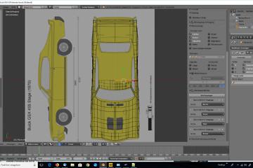 Tag 2: Blender Car Modeling