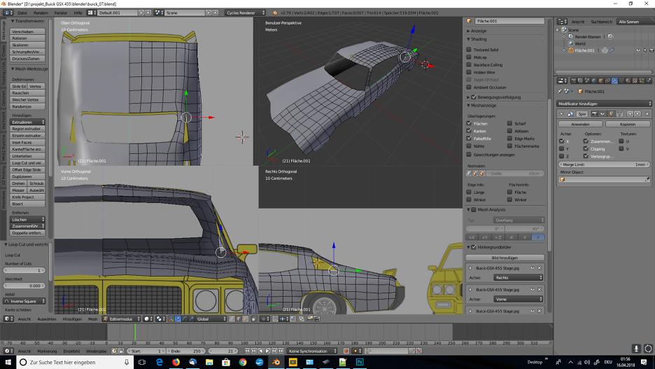 Blender Car Modeling