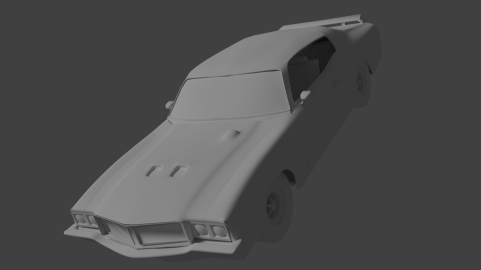 Tag 7: Blender Car Modeling