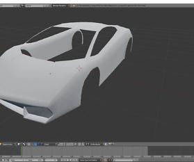 Tag 3: 3D-Modelling von einem Supersportwagen