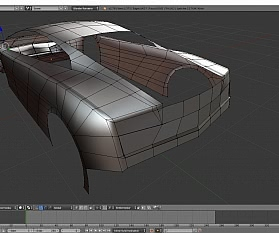 Tag 4: Blender Car Modeling