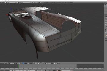Tag 4: Blender Car Modeling