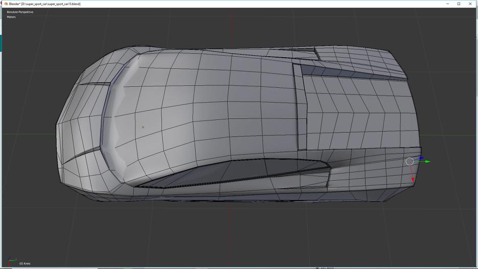 Tag 7: Blender Car Modeling 4