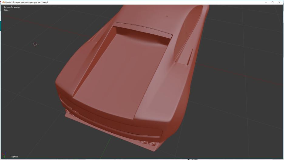 Tag 7: Blender Car Modeling 1