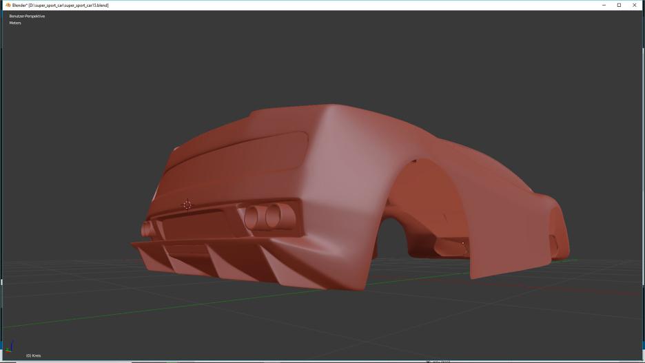 Tag 7: Blender Car Modeling 2