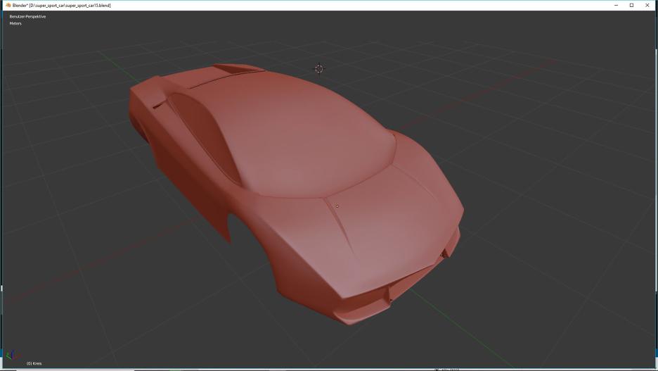Tag 7: Blender Car Modeling 3