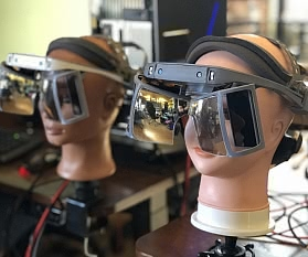 Open Source Augmented Reality Brille