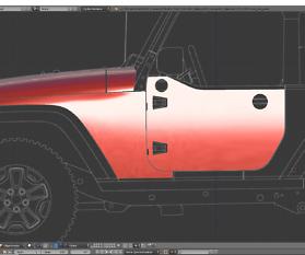 Tag 8: 3D-Modelling von einem Geländewagen