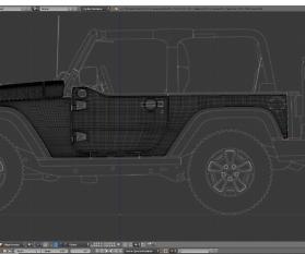 Tag 9: 3D-Modelling von einem Geländewagen