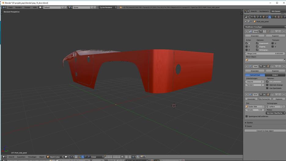 Tag 10: 3D-Modelling von einem Geländewagen 3