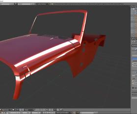 Tag 11: 3D-Modelling von einem Geländewagen