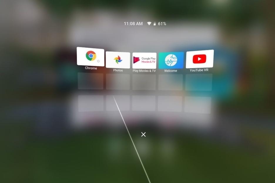 Web in VR: Chrome startet in Google Daydream View