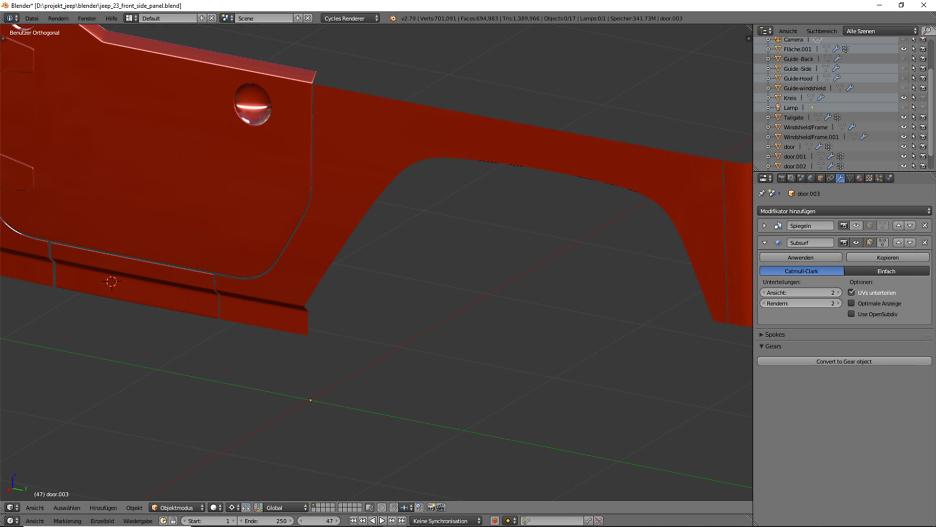 Blender Car Modeling ist eines der größten 3D-Themen, die es gibt.