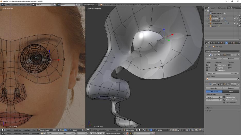 Teil 3: Dein zweites Ich: Du in 3D! 3