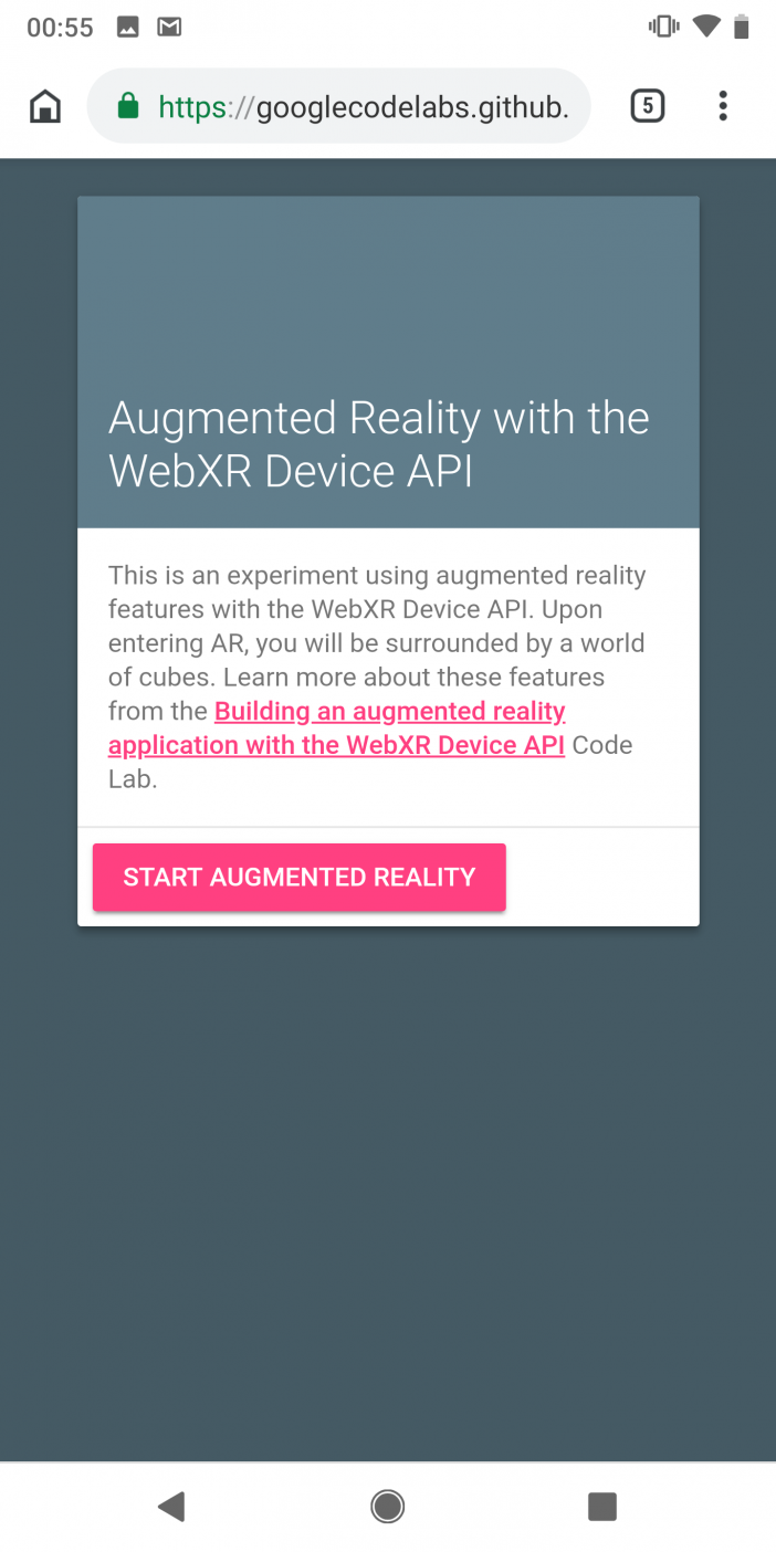 Teil 1: Erstellung einer AR-Webanwendung 2