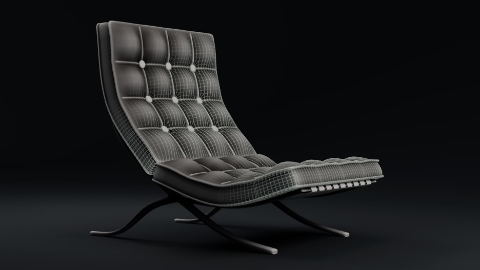 Blender Chair Modeling