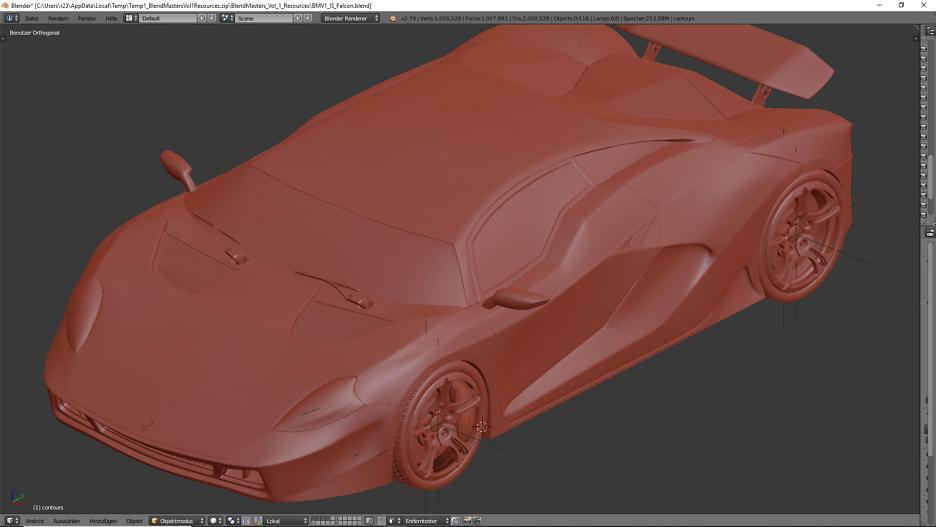 3D Car Modeling 2