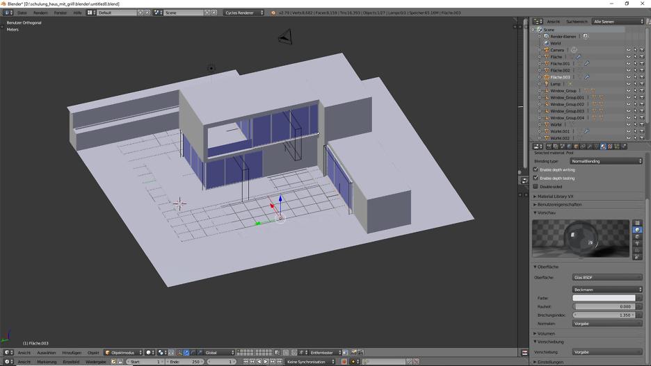 Architekturvisualisierung. 2